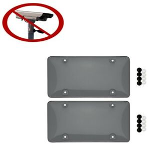 TINTED Traffic Camera License Plate Cover *** BUBBLE   UNBREAKABLE   ORIGINAL***