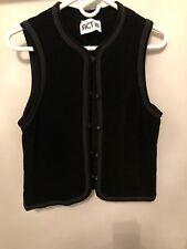 Vintage Act 111 Velvet Vest. Very Good Condition. Estimate Ladies M