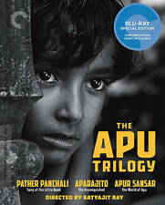 DVD: The Apu Trilogy [Blu-ray], Satyajit Ray. Acceptable Cond.: Soumitra Chatter