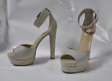 "Steve Madden ""Diffuse"" Hi-heel sandal in bone print - Size 11, 6"" heel - New"