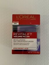 L'Oreal Paris RevitaLift Volume Filler Day Cream Moisturizer HYALURONIC ACID 1.7
