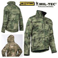Jacke Softshell Miltec Jacke Tactical Softair Wasserdicht Multi Taschen Scu