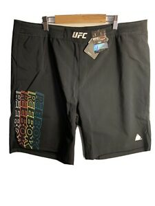 Reebok UFC Fight Night Authentic Gladiator Short Black 38 Inch