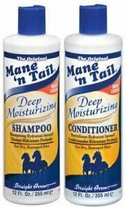MANE 'n TAIL Deep Moisturising Shampoo And Conditioner 12 oz