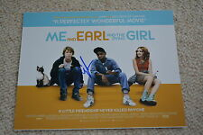 RJ CYLER signed autograph In Person 8x10 ( 20x25 cm) ME, EARL AND THE DYING GIRL