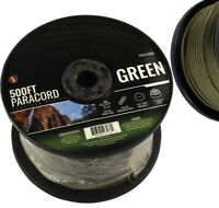 GREEN 550 Paracord Spool 500 Ft Parachute Cord 7 Strand Camping Survival NEW