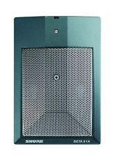 Shure BETA 91A Half-Cardioid Condenser Kick-Drum Microphone w/Preamp
