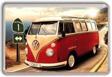 VW classique camping-car Aimant de réfrigérateur 02
