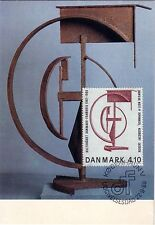 DANEMARK -  CARTE MAXIMUM ROBERT JACOBSEN - 22-9-1988