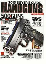 HAND GUNS PRICES & SPECS, 2013 BUYER'S GUIDE  ( 500 + GUNS OVER 900 MODELS )