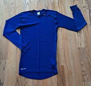 Helly Hansen HH Workwear Base Layer Top Shirt Men's/Women's Size L Dark Purple