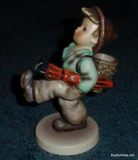 """Globe Trotter"" Goebel Hummel Figurine #79 TMK7 Boy With Umbrella - FINAL ISSUE!"