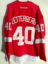 Reebok NHL Replica Jersey Detroit Redwings Henrik Zetterberg Red sz X-LARGE