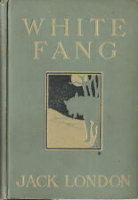 WHITE FANG-JACK LONDON-1ST EDITION-1906-VERY NICE COPY-A GREAT INVESTMENT!