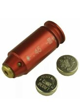 Red Laser CAL.45ACP/.45 Brass Bore Sighter Cartridge Boresight For Hunting