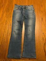 Womens Seven 7 For All Mankind Size 26 Boyfriend Jeans Pants Medium Wash