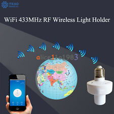 Sonoff E27 Slampher WiFi 433MHz Wireless Light Holder Smart Switch Module