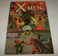X MEN # 20 (1963) Key Appearance of Lucifer & First Supreme One Silver Age Nice!