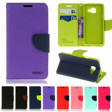 Deluxe Wallet Leather Flip Case Cover For Samsung A3 A5 J3 J5 2017 S7 S8 C5 Pro