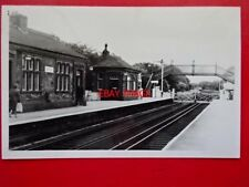 PHOTO  HALL ROAD RAILWAY STATION ON ROUTE  BLUNDELLSANDS & CROSBY L&Y