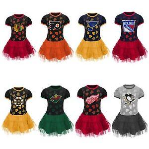 "Girls 4-6x Reebok Official NHL ""Love to Dance"" Team Tutu Dress NWT $45 HOCKEY"