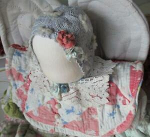 ~ One of a Kind Fabric Arts Doll Amish Quilt Angel Doll ~ Waldorf Style