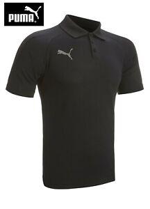 New PUMA Mens Dry Cell Performance Golf Polo Shirt Top Mens - Small - Black