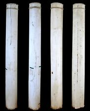 Set 4 Vintage Antique 7' Wood Wooden Load Bearing Structural Porch Columns Posts
