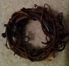 "Lot of 12 Mini Grapevine Twig Wreaths - Approx 2"" Diameter Crafts Favors Decor"