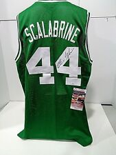 BRIAN SCALABRINE BOSTON CELTICS AUTOGRAPHED GREEN STYLE JERSEY W COA JSA   83ccc3a80