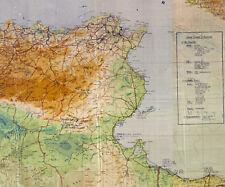 WWII German Military Maps:  Afrika Korps 1941-42