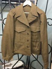 Vintage 1951 Australian Military Wool Field Jacket