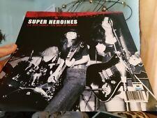 SUPER HEROINES LP RECORDS BLUE VINYL LTD# 300 EVA O GOTH CHRISTIAN DEATH LP
