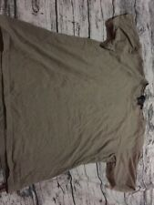 Gucci Brown Cotton Womens T Shirt Top Size S Read First