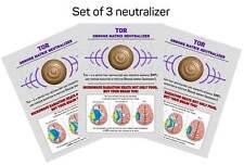 3 Orgone matrix neutralizer EMF and Torsion field protection