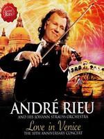 André Rieu Johann Strauss Orchestra - Love In Venice - 10th Anniversar (NEW DVD)