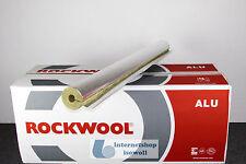 1mtr. Steinwolleschale Rockwool R800 89/80 für Heizung / Sanitär / Solar