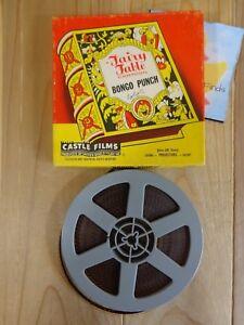 Vintage 8 mm Reel Color Movie Film Bongo Punch 490 A Fairy Fable Cartoon 9078