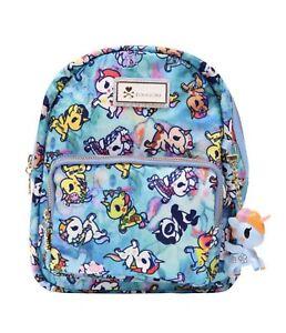 TOKIDOKI Light Blue Watercolor Paradise Mini Backpack - NWT - Still in bag