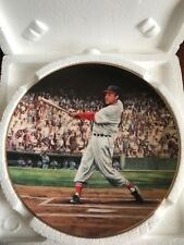 Stan Musial Great Moments in Baseball Bradford Ex Collector Plate. NIB Cardinals