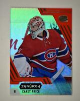 2020-21 UD Synergy Red #25 Carey Price - Montreal Canadiens
