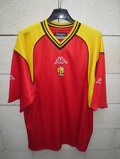 Maillot LE MANS 72  Kappa training shirt rouge entrainement football XL