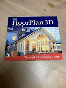 Floor Plan 3D Express version 8 by IMSI, Pc Software Nice Condition !