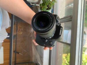 Canon EOS Rebel T5i 700D 18.0 MP DSLR with EFS 18-55mm STM Lens -2.9k Clicks