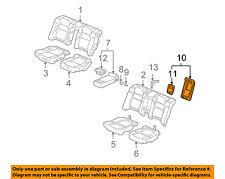 Rear Honda Genuine 82140-T2F-A02ZA Headrest Assembly