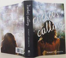 J.K. ROWLING (ROBERT GALBRAITH) The Cuckoo's Calling FIRST EDITION