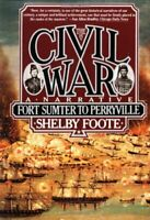 Complete Set Series - Lot of 3 The Civil War books by Shelby Foote