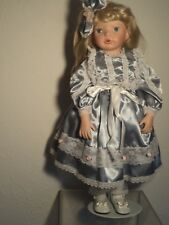 """Vintage Realistic Toddler Porcelain Doll """"Chelsea"""" by Kathy Smith-Fitzpatrick"""