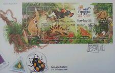 Wildlife 1996 1997 Malaysia Birds Monkey Butterfly (FDC) *Hong Kong o/p *rare