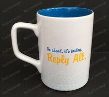 DISNEY PARKS Mug OFFICE HUMOR - DONALD DUCK Coffee Cup 12 oz NEW